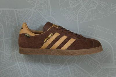 Adidas Originals and size? Team up for a Winter Ready Gazelle GTX Amsterdam