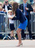 These Pics of Kate Middleton Trying to Defuse Toddler Tantrums Before They Begin Are Peak Motherhood