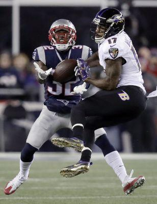 Late Brady TD pass helps Patriots hold off Ravens 30-23