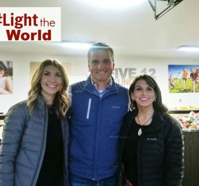 Service Project: Feed the Hungry- Light The World
