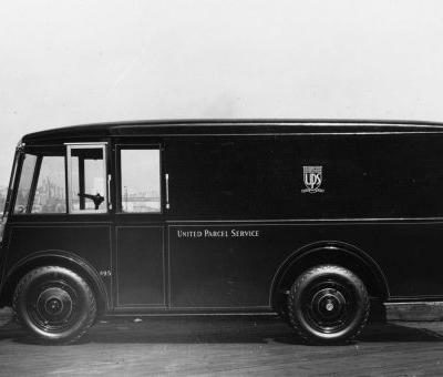 UPS is rolling out new electric delivery trucks - these 13 photos show the evolution of their vehicles