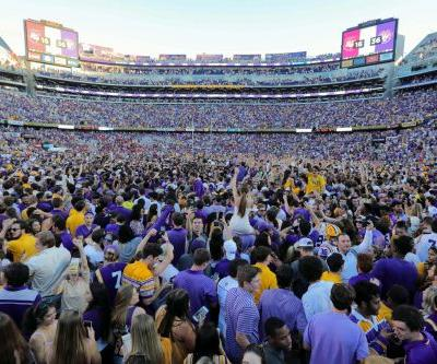 LSU incurs fined $100,000 after fans storm the field following Georgia win