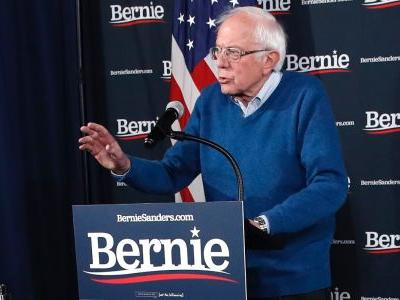 Bernie Sanders declares victory in the Iowa caucuses moments after the DNC demands a recanvass of the results