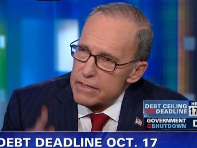 Larry Kudlow is the perfect person to keep Trump's economic sham going