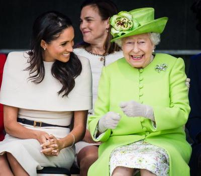 Queen Elizabeth gifted Meghan Markle pearl earrings that match her own