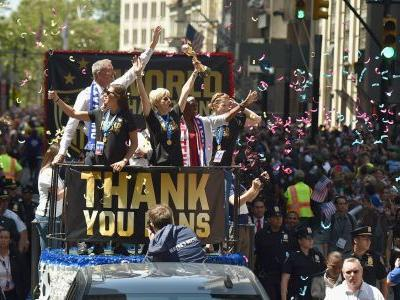 USWNT parade: Women's World Cup champions celebrate 4th title in New York City