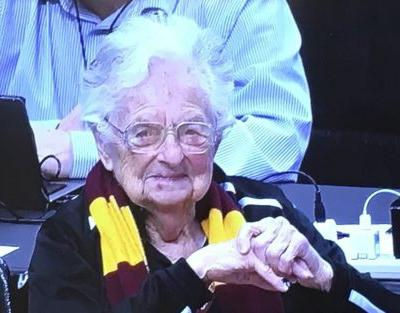 This is the kind of miracle NCAA's nun fan prayed for