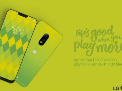 Green coloured LG G7 spotted, reveals notch display and mod support