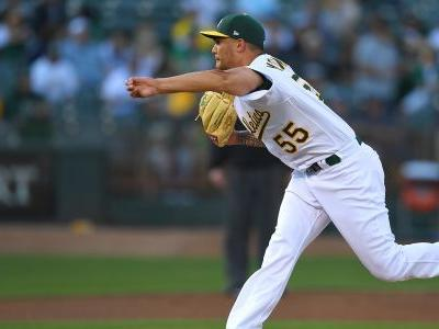 MLB wrap: A's Sean Manaea no-hits Red Sox; Yu Darvish struggles once again