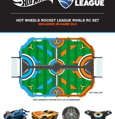 Hot Wheels to Release Smartphone Controlled 'Rocket League' RC Car Set this Holiday for $180