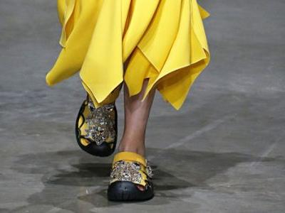 Ugly Crocs Are Back At Christopher Kane's London Fashion Week Show