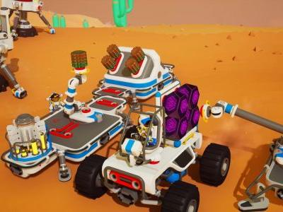 Astroneer gets industrial with a free Automation update