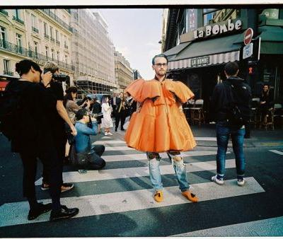 Yu Fujiwara's latest street shots from Paris Fashion Week
