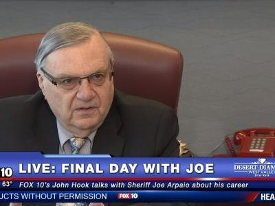 Joe Arpaio: I Was 'Pissed' When Sacha Baron Cohen Tricked Me into Interview Disguised as Finnish Comedian
