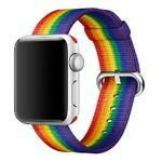 Apple to sell Pride Edition Woven Nylon band for Apple Watch; part of the sales go to LGBTQ groups
