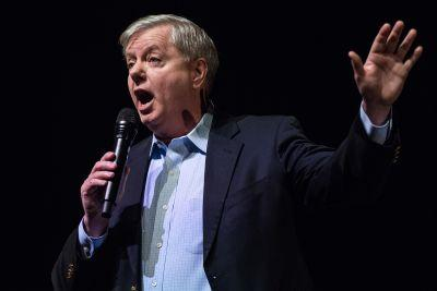 Graham: Trump could 'go down' because he can't shut up