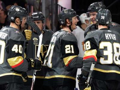 Karlsson scores twice as Golden Knights beat Canucks