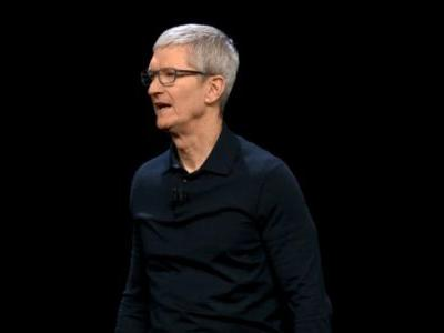 Tim Cook takes aim at tech companies for creating 'chaos'