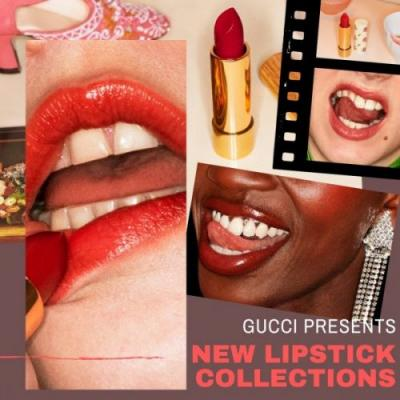 Gucci Presents New Lipstick Collections