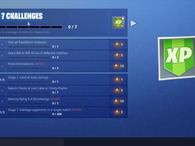 Fortnite Week 7 Challenge Guide: