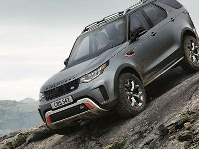 The Land Rover Discovery SVX Is An All-Terrain Monster With V8 Power