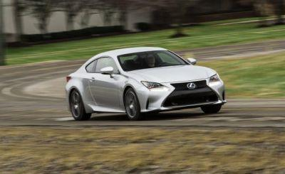 2017 Lexus RC in Depth: Its Extroverted Styling Writes a Check Its Powertrain Can't Cash