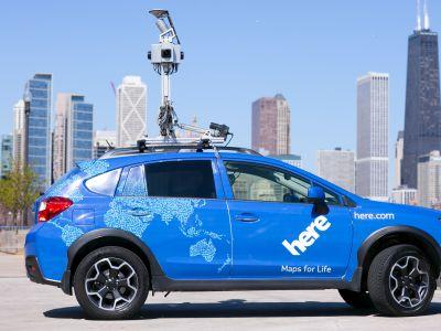 The 'Google of China' has partnered with a mapping company owned by Audi, BMW, and Daimler to plot the world