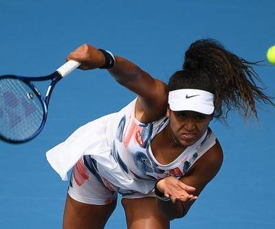 Naomi Osaka advances at the Australian Open in somewhat dramatic fashion