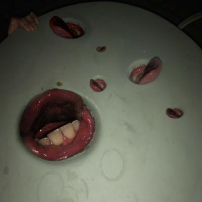 Death Grips share Year of the Snitch's revolting album artwork