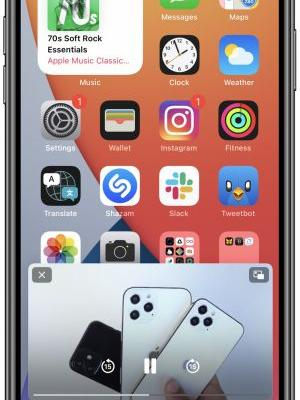 IOS 14: How to Use Picture in Picture Mode on iPhone