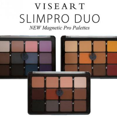 Viseart SlimPro Eyeshadow Palettes + Cool Mattes 2 Eyeshadow Palette for Summer 2018