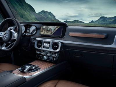 Mercedes Shows More Of 2019 G-Class Interior, And It's Proper Luxury
