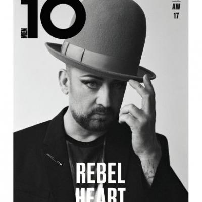 Boy George On The Cover Of Issue 46 Of 10 Men, Rebel Heart, Coming Soon