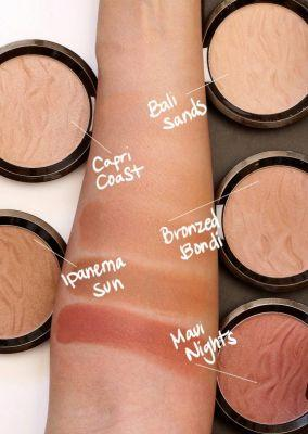 The New BECCA Sunlit Bronzers: Are they powders? Are they creams?