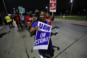 The Latest: Trump says hopes GM strike a 'quick one'