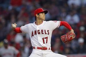 Angels' Ohtani gets blister vs Boston, lasts only 2 innings
