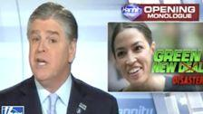 Sean Hannity Calls Green New Deal A 'Serious Threat To Our Way Of Life'