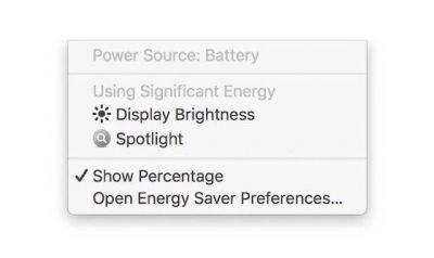 MacOS Beta Warns If Display Brightness Affects MacBook Battery Life