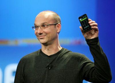 "Android co-founder prepping smartphone that ""lacks a surrounding bezel"""