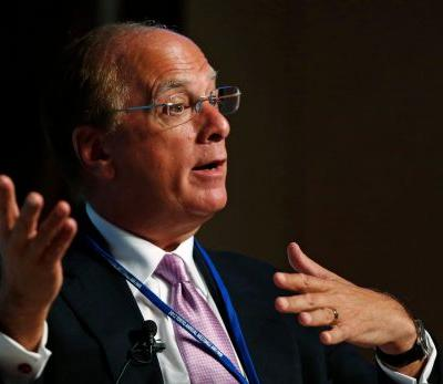 BlackRock CEO Larry Fink: The idea that money managers like us are not heavily regulated 'must be coming from bankers'