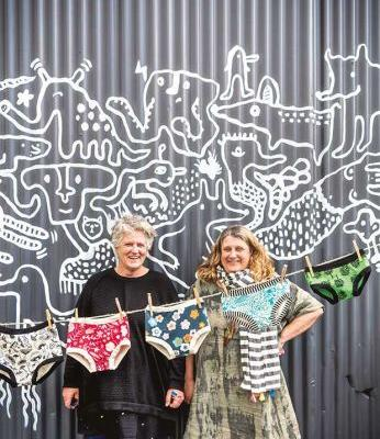The enterprising Martinborough sisters behind Thunderpants - the intentionally unsexy underwear
