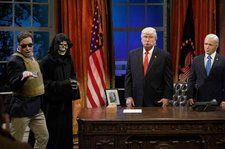 Alec Baldwin on 'SNL' Emmy Win: 'At Long Last, Mr. President, Here Is Your Emmy'