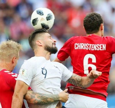 Denmark 0 France 0: World Cup's first stalemate sends both teams through