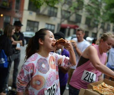 Just so you know, there's a 5k run where you eat a slice of pizza at every checkpoint