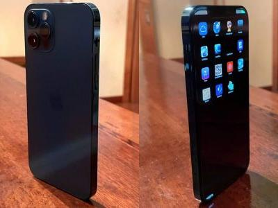 IPhone 12 Pro prototype shows early 'Pacific Blue' variant and nonUI version of iOS 14