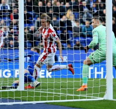 Leicester City 1 Stoke City 1: Butland howler costs Potters
