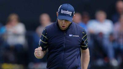 Branden Grace sets major record with 62 at Open Championship