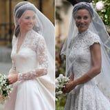 Blast From the Past! See Kate and Pippa Middleton's Sweetest Wedding Moments, Side by Side