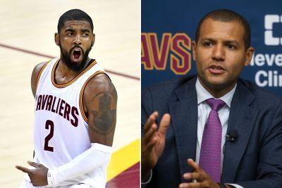 New Cavs regime begins Kyrie Irving posturing with praise