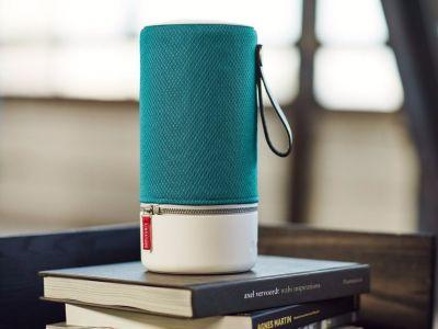 This portable speaker can connect to up to 6 others to fill your house with sound